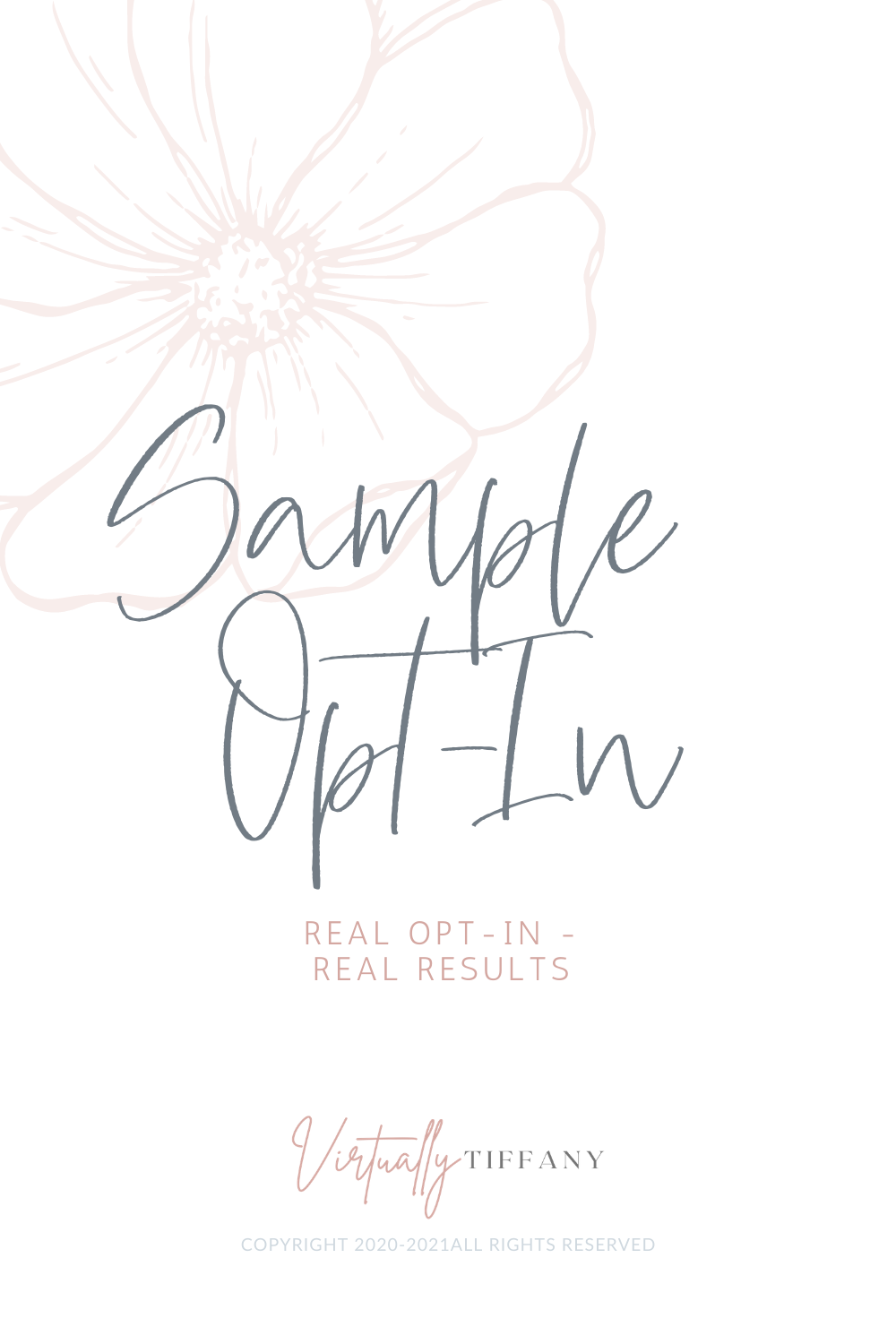 Sample Opt-in