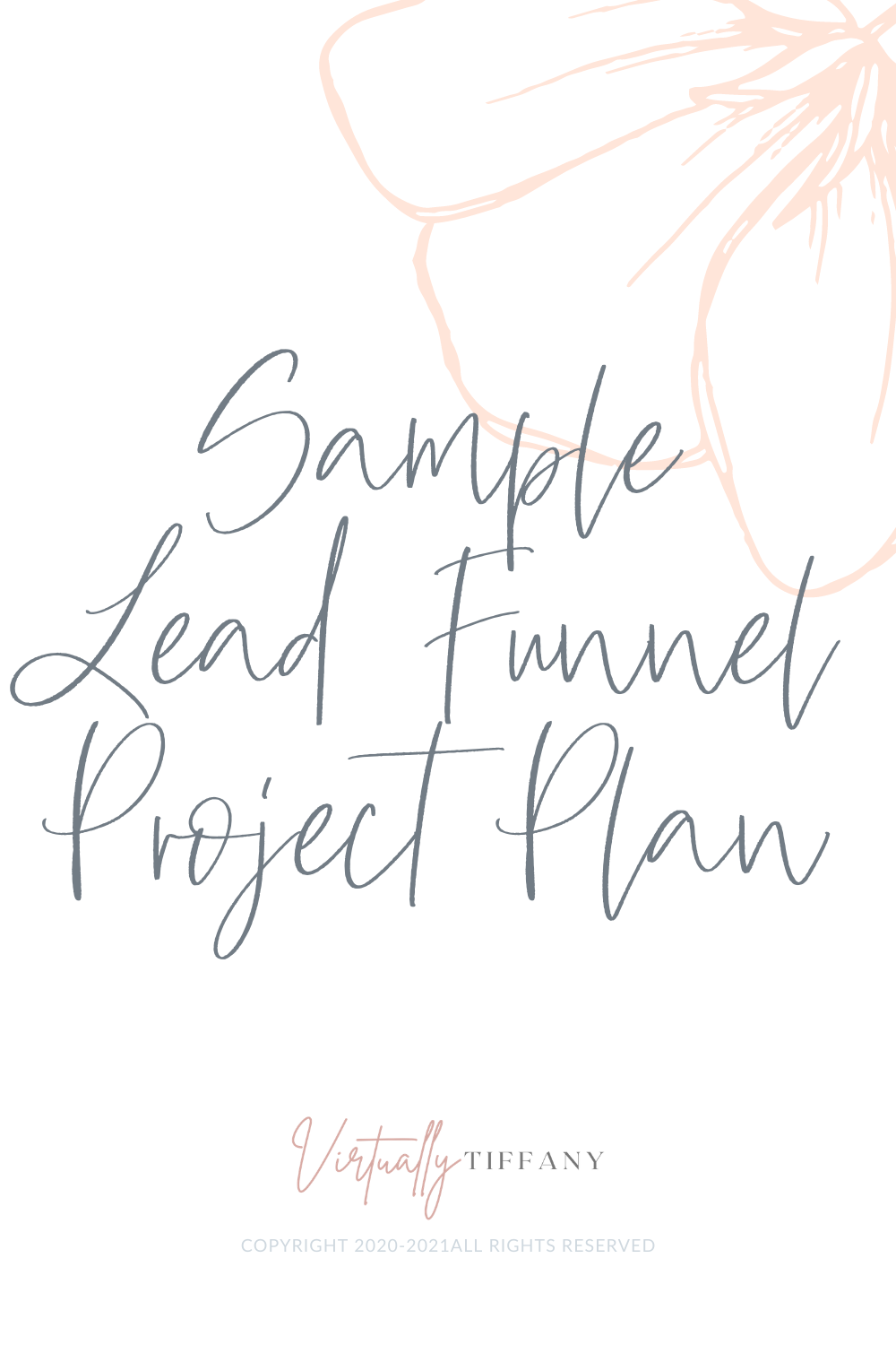 Sample Lead Funnel Project Plan